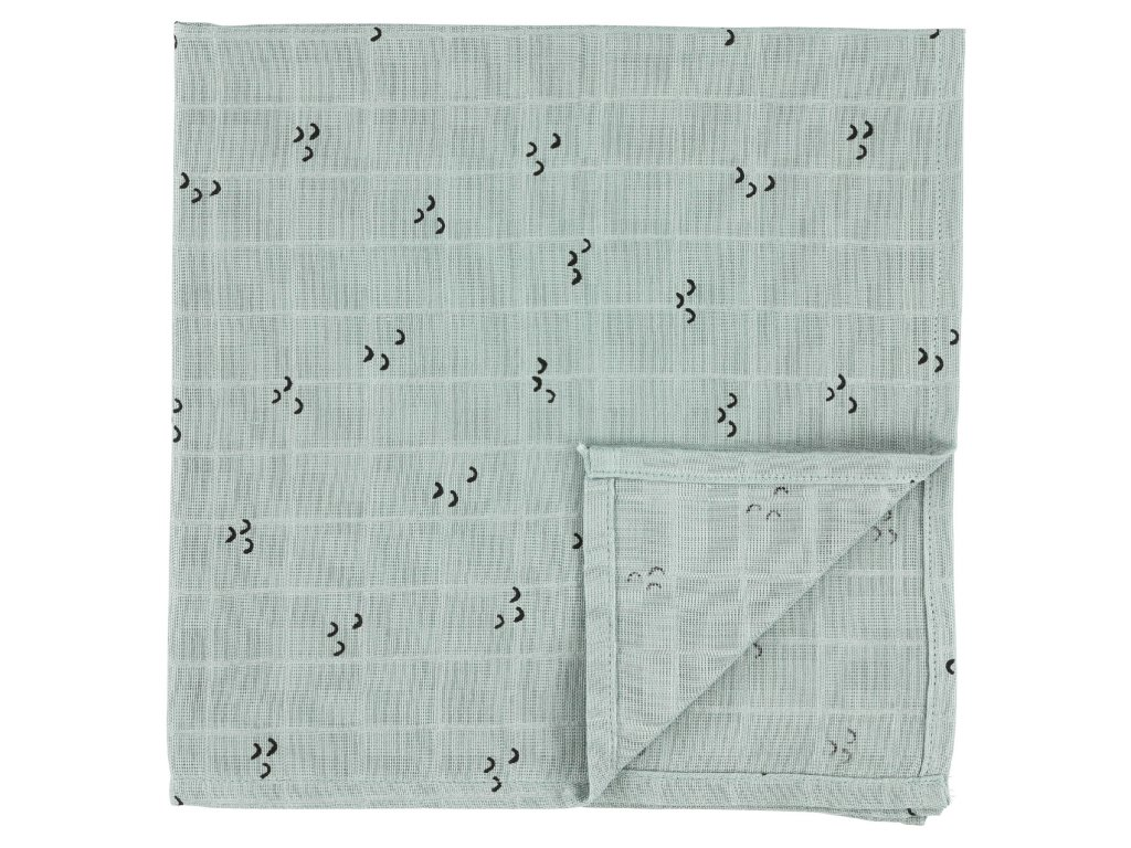Bavlněná plenka Muslin cloths - Mountains - 55 cm, set 3 ks