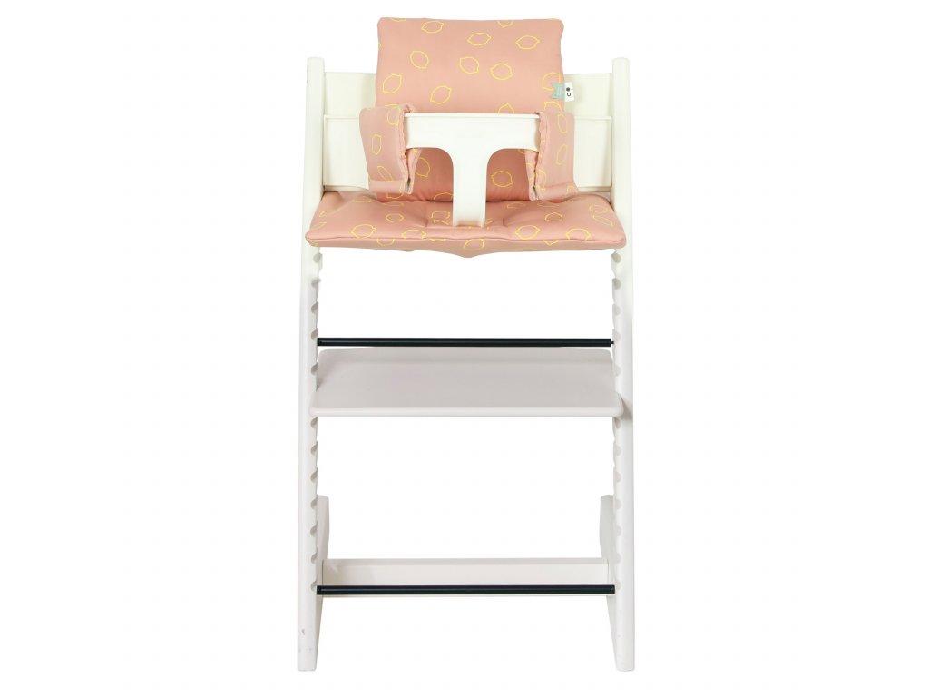 Polštářek na židličku Stokke Trixie - Lemon Squash