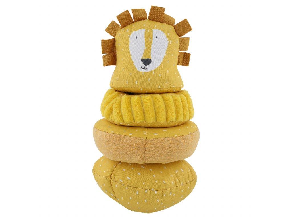 Stohovací plyšová hračka Trixie - Mr. Lion
