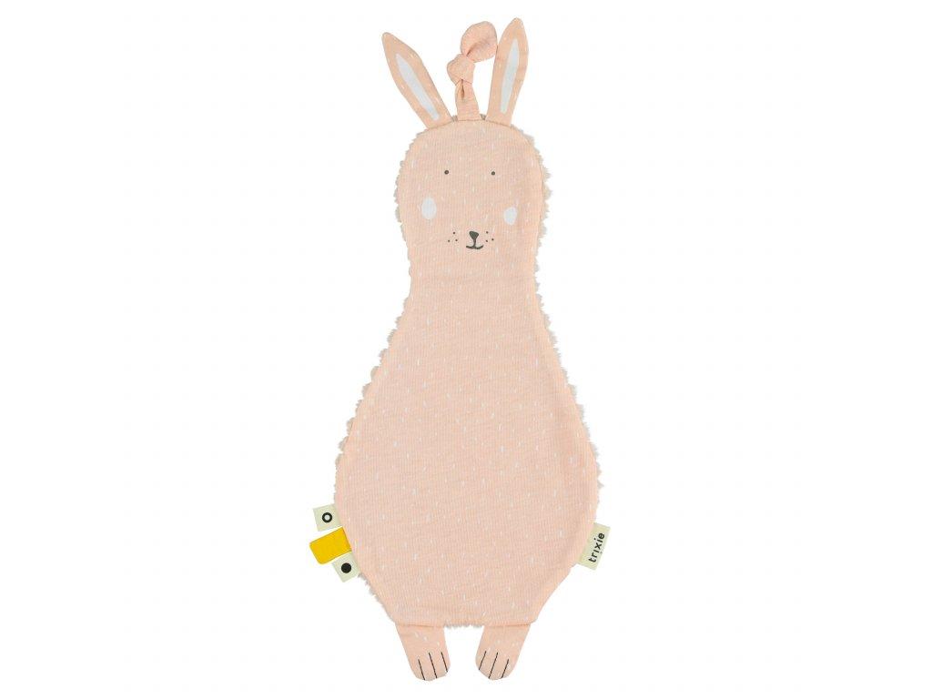 Držák na dudlík s muchláčkem Trixie - Mrs. Rabbit