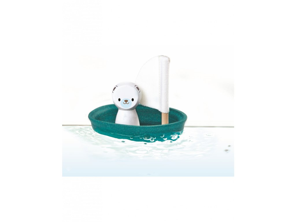 plachetnice s lednim medvedem