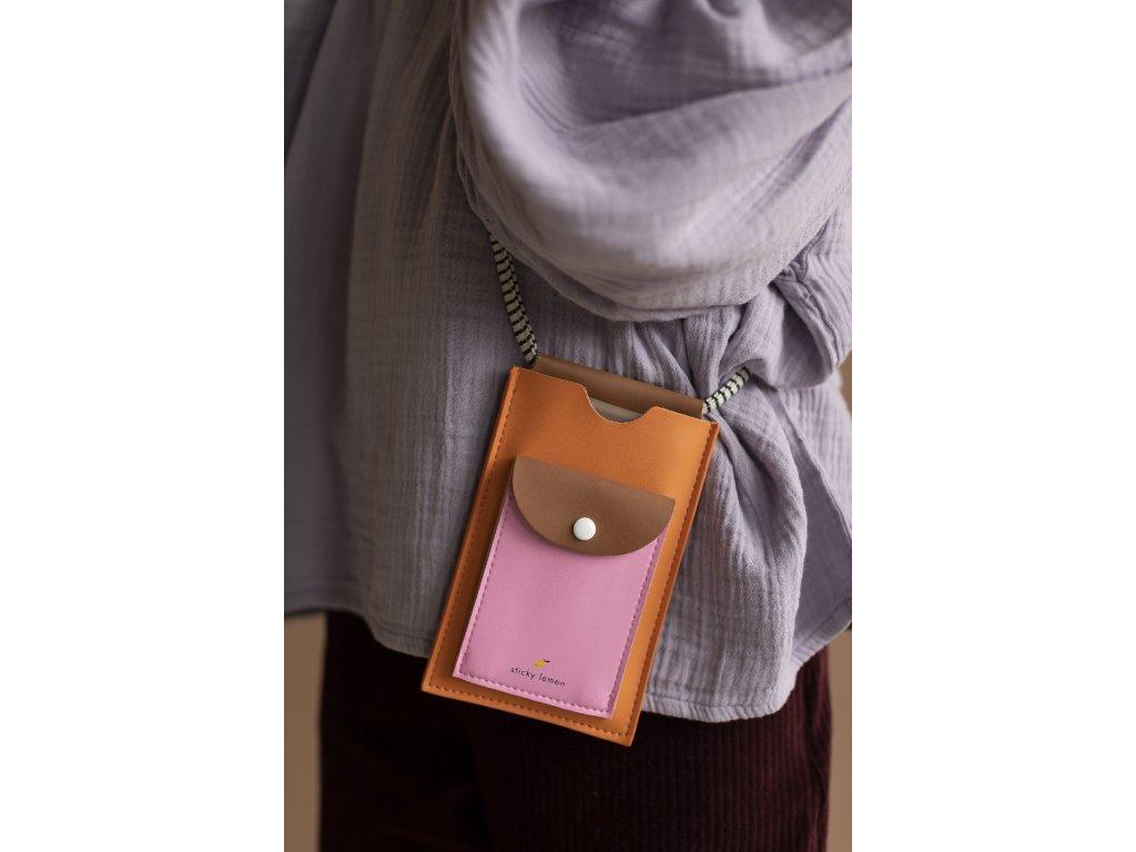 1801798 Sticky Lemon phonecase carrot orange + syrup brown + bubbly pink 2