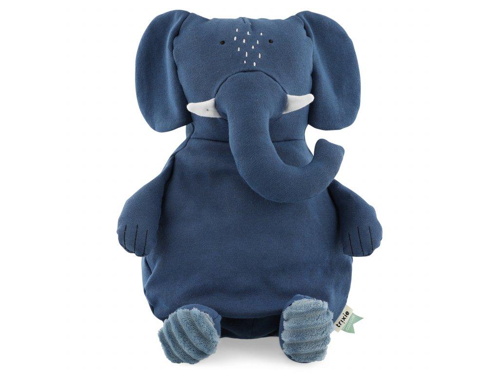 100% organic cotton plush toy large- Mrs. Elephant