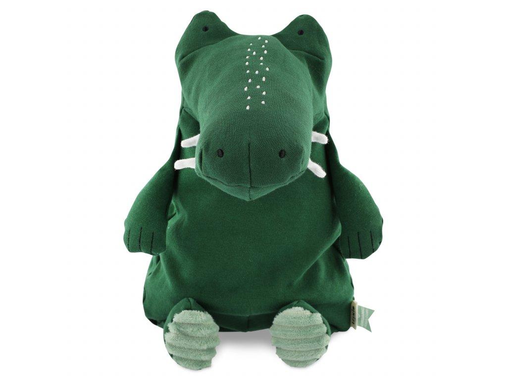 100% organic cotton plush toy large - Mr. Crocodile