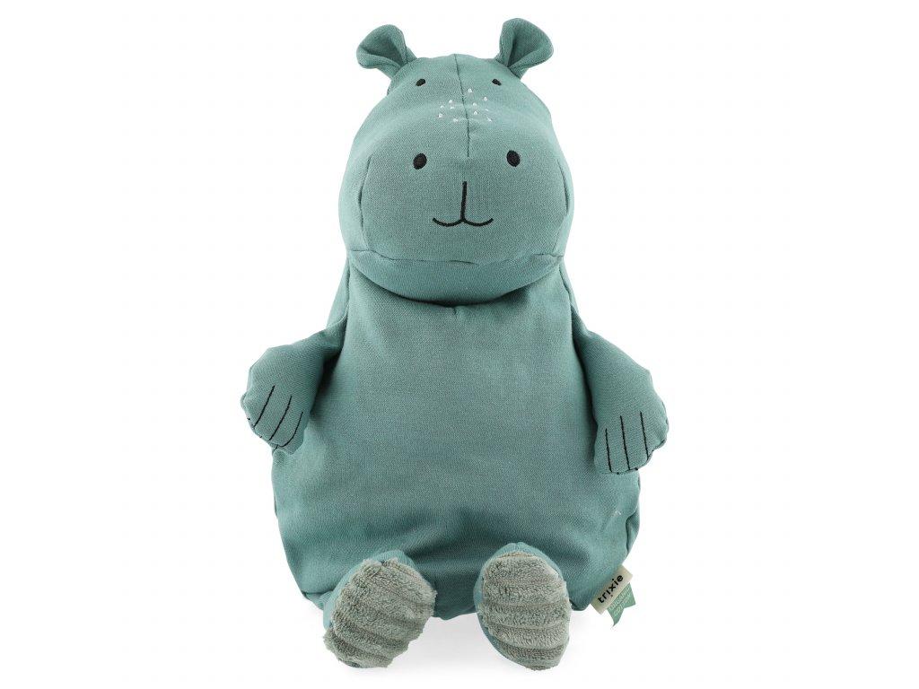 100% organic cotton plush toy large - Mr. Hippo