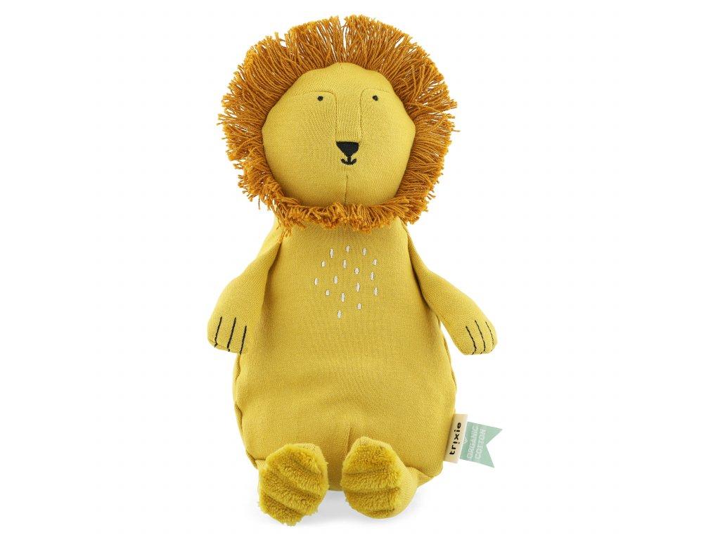 100% organic cotton plush toy small - Mr. Lion