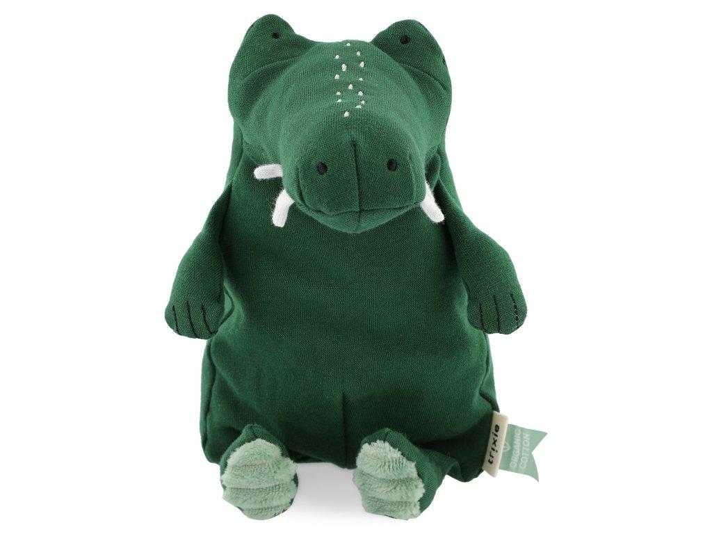 100% organic cotton plush toy small - Mr. Crocodile