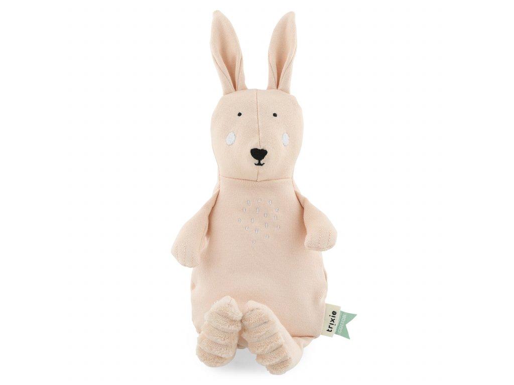 Plyšák 100% organická bavlna - Mrs. Rabbit - small