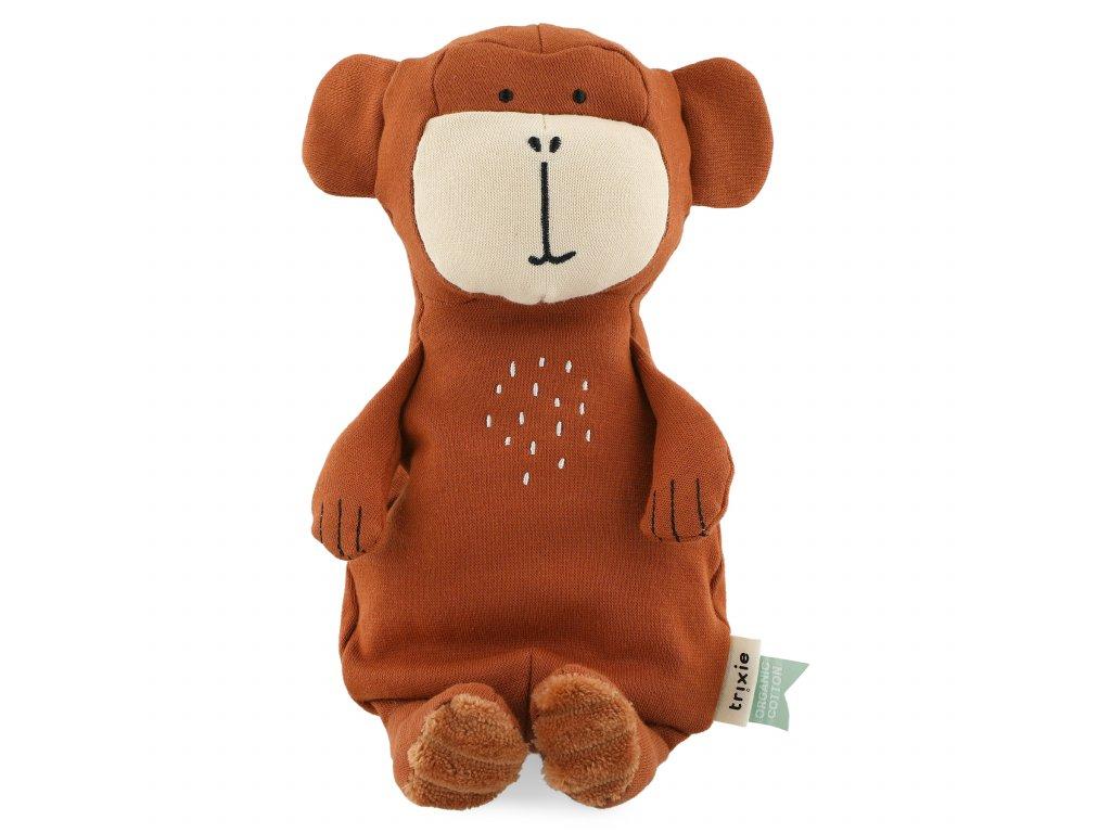100% organic cotton plush toy small - Mr. Monkey