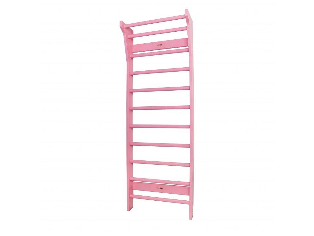 UPPLYFT Pink fitwood wallbars sprossenwand puolapuut