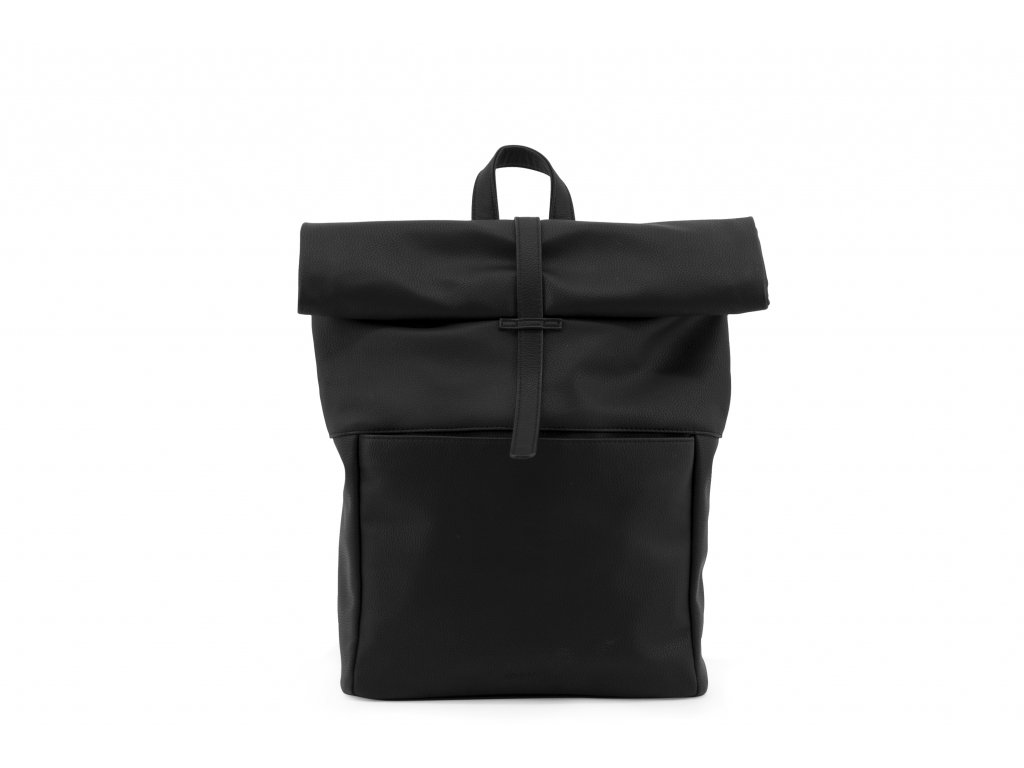 1601405 Monk & Anna product Herb backpack Black