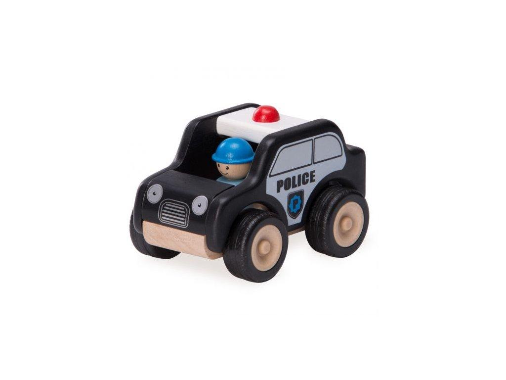 316 drevene mini hlidkove vozidlo