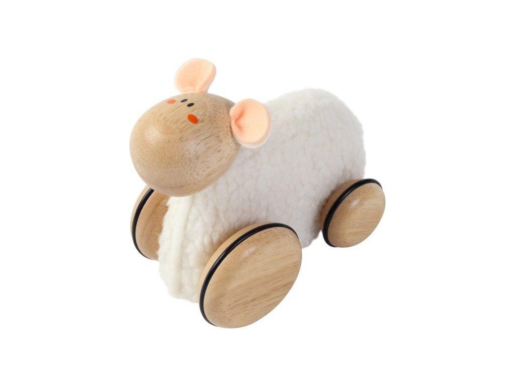 Dřevěná hračka Malá ovečka