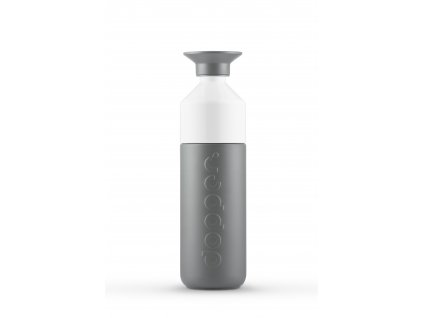 Dopper Glacier Grey bottle full