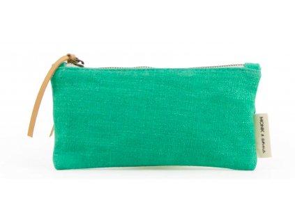 Monk Anna Kodomo Pencilcase Emerald green