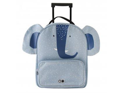 1131081 5 trixie detsky kufr na koleckach mrs elephant