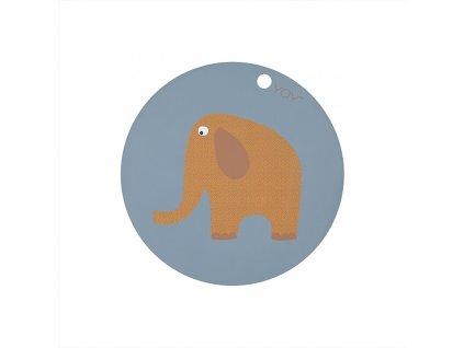 Prostírání slon