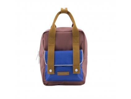 1801412 Sticky Lemon Envelope deluxe backpack small ink blue, hotel brick, sugar brown (2)