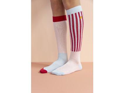 1801490 1801491 1801492 1801493 1801494 1801495 Sticky Lemon knee high socks deluxe mend