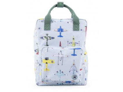 1702009 Studio Ditte backpack large boys airplanes