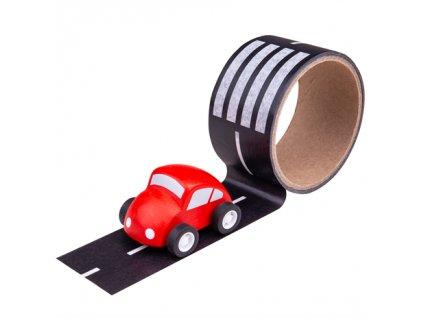 lepící páska silnice