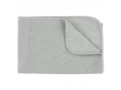 Přikrývka 100% organická bavlna - Grain Grey