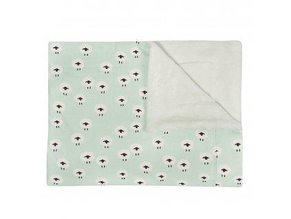 Fleecová deka Trixie - Sheep 100 x 150 cm