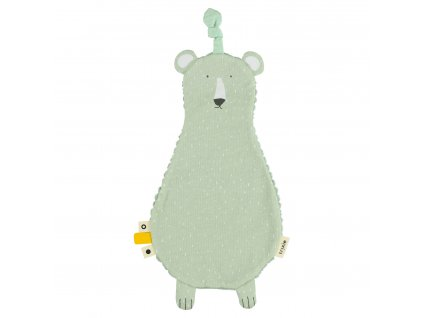 Držák na dudlík s muchláčkem Trixie - Mr. Polar Bear