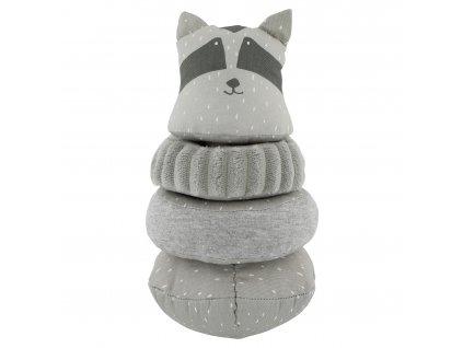 Stohovací plyšová hračka Trixie - Mr. Raccoon
