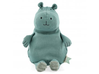 100% organic cotton plush toy small - Mr. Hippo