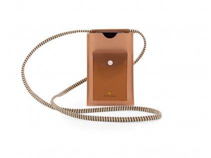 1801781 Sticky Lemon phone pouch XL lemonade pink