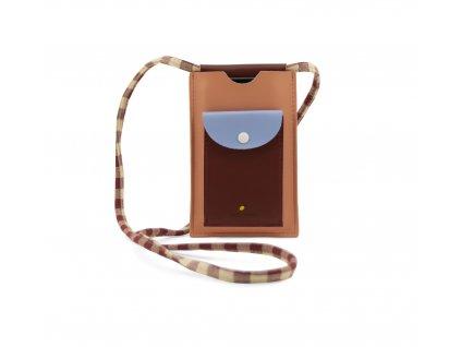 1801909 Sticky Lemon phone pouch cherry red sunny blue berry swirl
