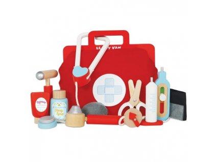 TV292 doctors bag medical kit wooden