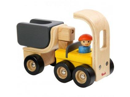 124 drevene nakladni auto s elektrocentralou