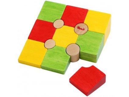 Dřevěné 3D puzzle tvary