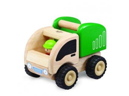 517 drevene auto mini popelar