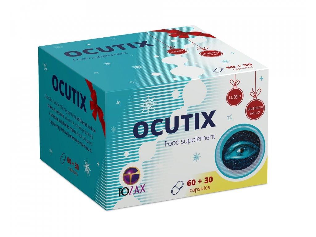 Limitovaná edice vánoční Ocutix 60 kapslí + 30 kapslí zdarma  Při nákupu nad 1200 Kč, doprava zdarma