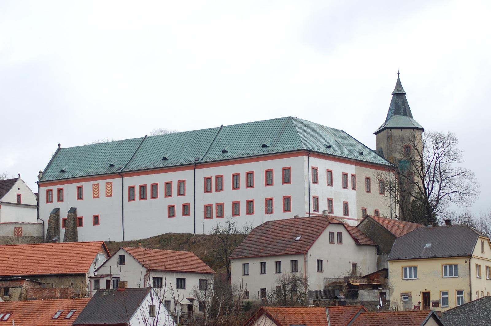 Zámek Žirovnice - infocentrum
