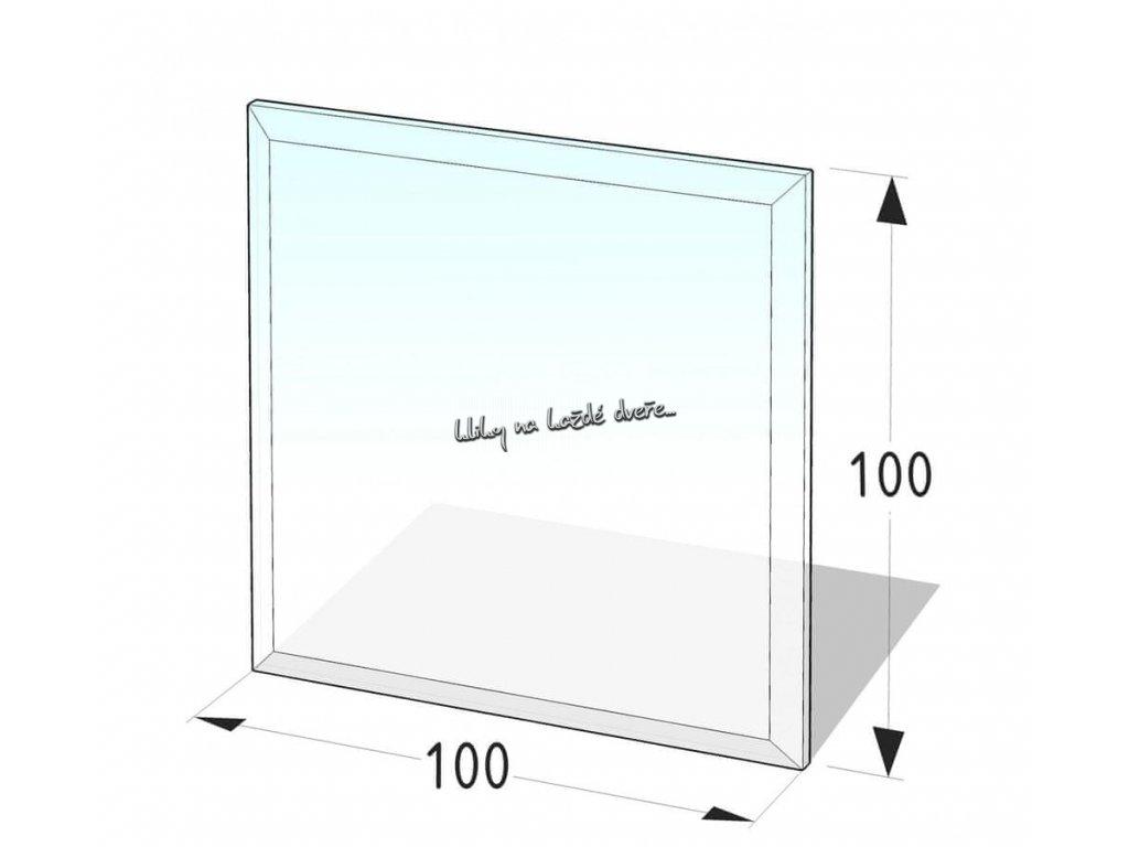 sklo pod kamna - 4H