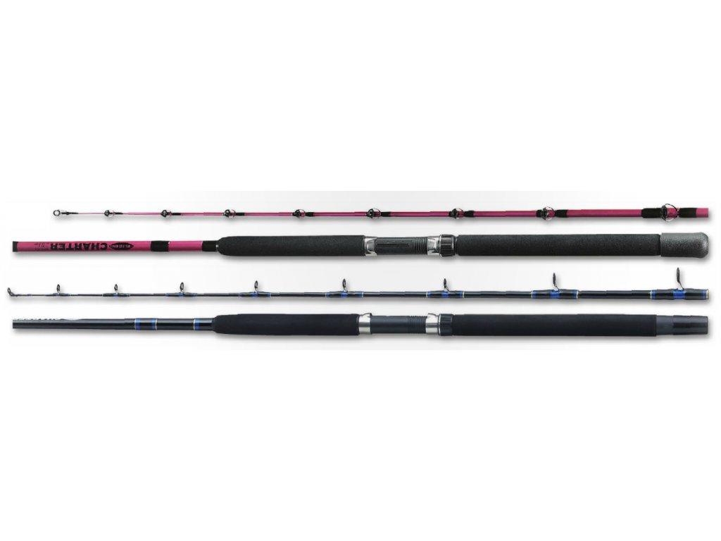 Fladen prut CHARTER BOAT 1.95mt/15-30lbs/2díl (Varianta Modrá)