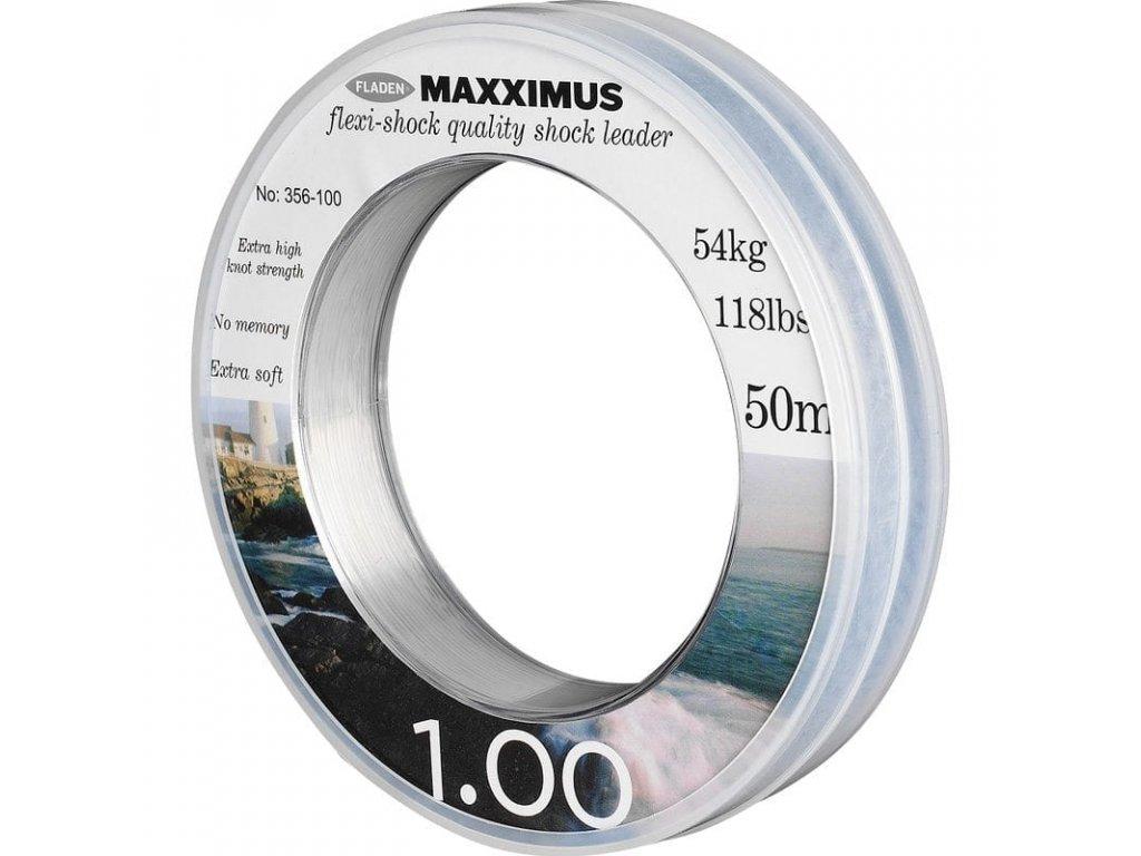 Fladen vlasec Maxximus Flexi Shock 50m (Varianta 1.0mm)