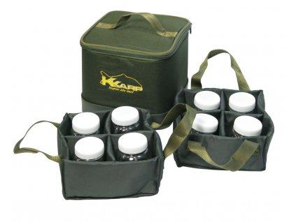 K-Karp taška 8 Cans Bait Bag