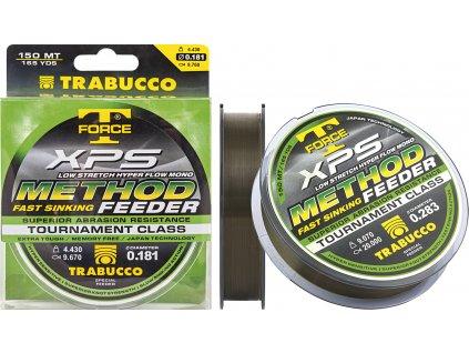 Trabucco vlasec T-Force XPS METHOD FEEDER 150m (Varianta 0,18mm)