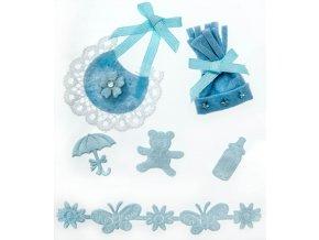 Kulíšek modrý