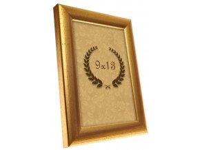 Rámček Metalic zlatý 9x13