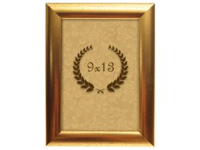 Rámeček Metalic zlatý 9x13