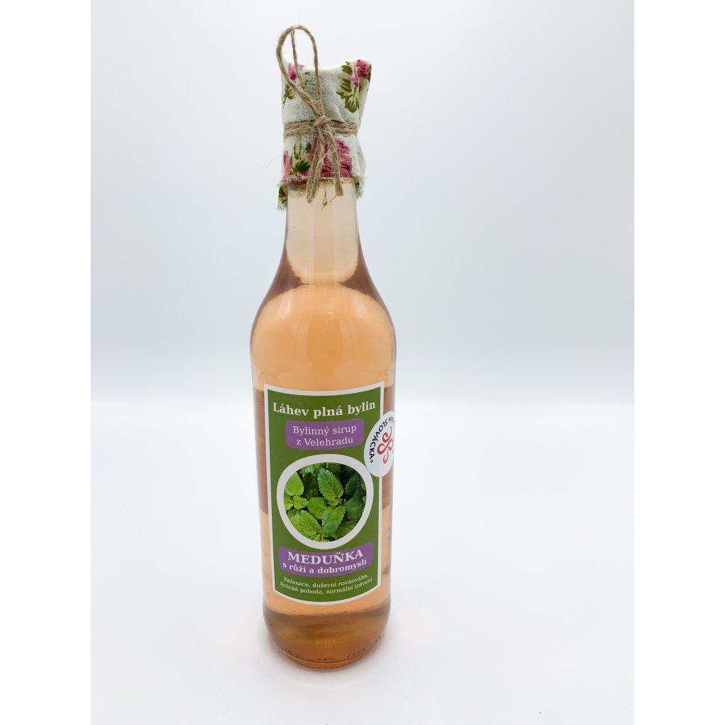 Meduňkový sirup 500 ml