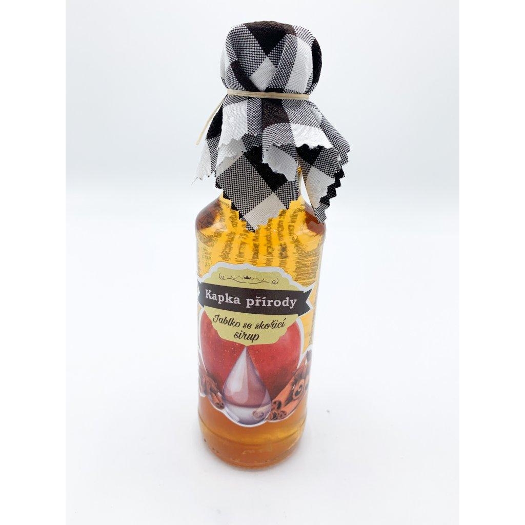 Jablkový sirup se skořicí 200 ml
