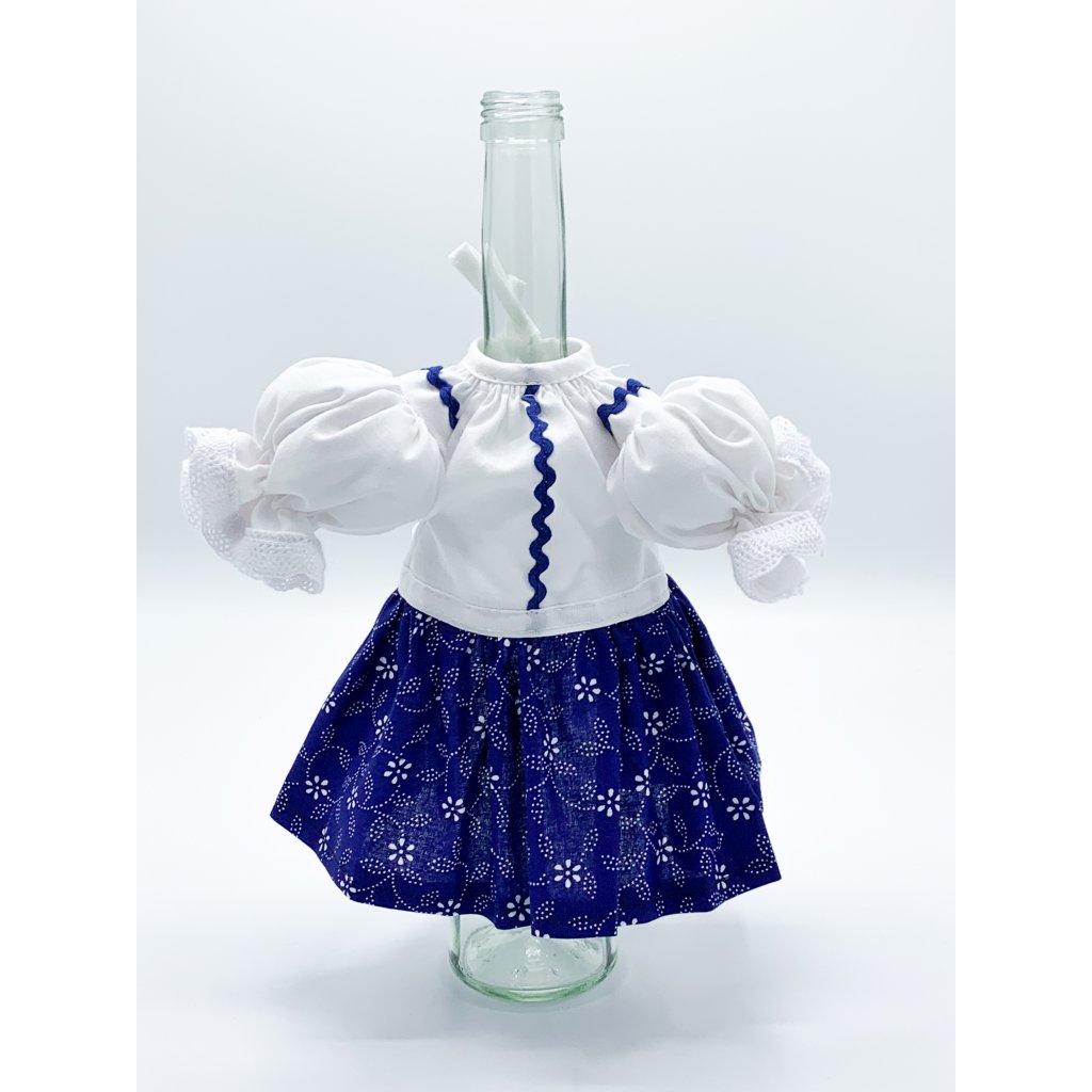 Obal na láhev ženský kroj (var. 1)