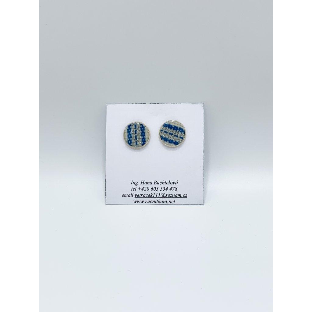 Náušnice tkané (var. 1)